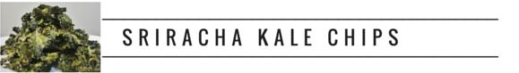 RECIPE, initforlove - sriracha kale chips