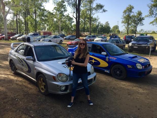rally driving - initforlove