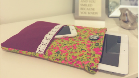 ipad material cover