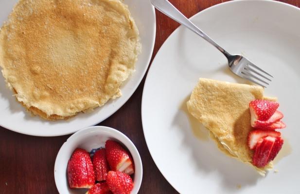 Paleo Coconut Flour Crepes