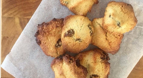 Almond meal cookies